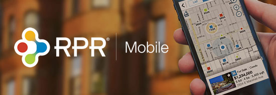 Get the RPR mobile Application